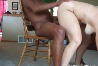 Naughty Housewife In High Heels Is Having A Threesome, With Two Handsome Guys, Once In A While