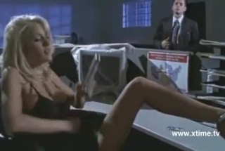 Blonde Girl Is Getting A Good Fuck From Her Lover, While Waiting For Her Massage Oil