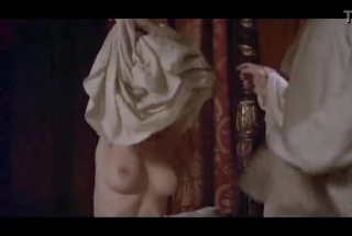 Uma Thurman Is Trying Not To Squeal With Delight While Getting Her Lover's Huge Cock, In Her Hot Pussy