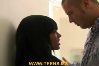Busty, Ebony Woman With Big Tits, Zorro Vina Got Her Hairy Pussy Licked Before Getting Nailed