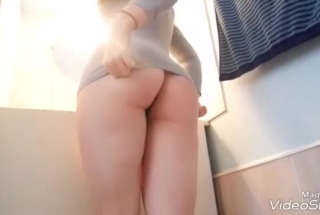 Horny Blonde Woman Is Getting Fucked In A Doggy- Style Position And Getting Ready To Cum
