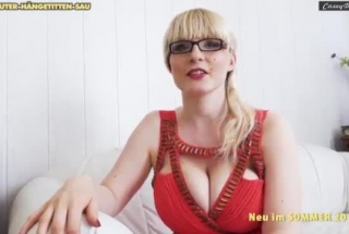 Busty German Slut With A Big, Tattooed Butt Is Getting Fucked In Her Bed, And Loving It