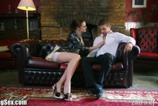 Gorgeous Milf In Mesh Stockings, Silvie Can Not Stop Moaning And Screaming From Pleasure