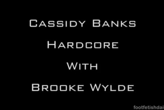 Brooke Wylde And Her Friend Are Having Sex With One Guy, While His Girlfriend Is Working