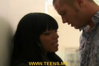 Gorgeous, Ebony Woman Is Fucking A Guy Who Is Not Her Husband, Because She Likes Him A Lot