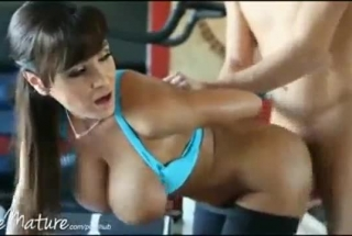 Lisa Ann Busty Blonde Showcased Facialized On Kitchen