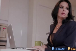 Classy Milf Veronica Angel Fucked By A Rookie