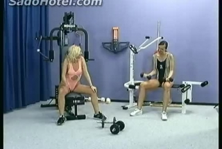 Blond And Brunette Making Love