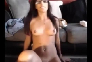 Summer Lives Near A Huge Flat Screen And Its Got Tons Of Room To Play With Her Dildo