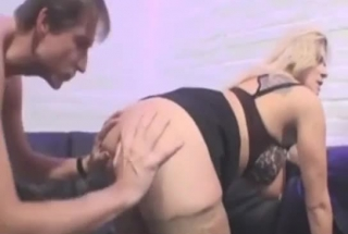 Fiery Blonde Lickign Pussy And Ass