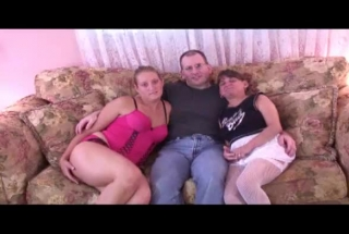 Hot Blonde Girls Are Making Love With Each Other, In The Living Room, In The Late Afternoon