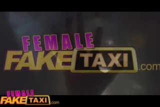 Female Fake Taxi Lacey Starr'sBlack Panties Wrapped For Her Stepson To Look At And Watch Her Fuck